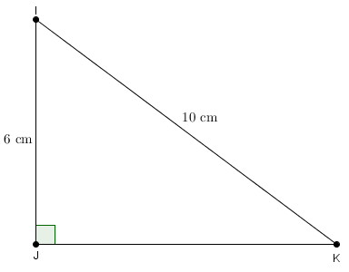 calcul coté adjacent triangle rectangle