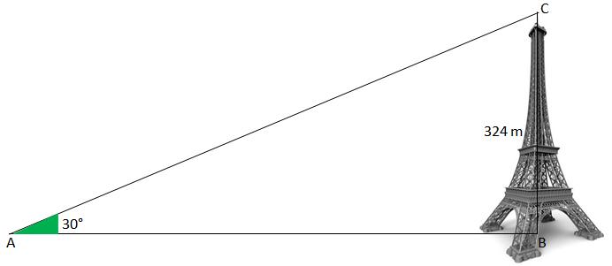 Sujet des exercices d'application sur le triangle rectangle et la trigonométrie pour la ...