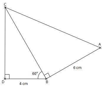 Sujet Des Exercices De Brevet Sur Le Triangle Rectangle Et La Trigonometrie Pour La Troisieme 3eme